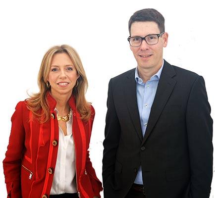 María Luisa Santa María y Mariano Peruzzotti